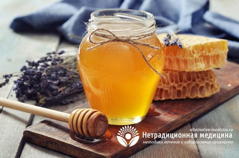 Лепешка с медом от кашля