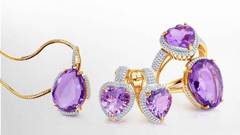 Камень аметист - лечебные и магические свойства драгоценности