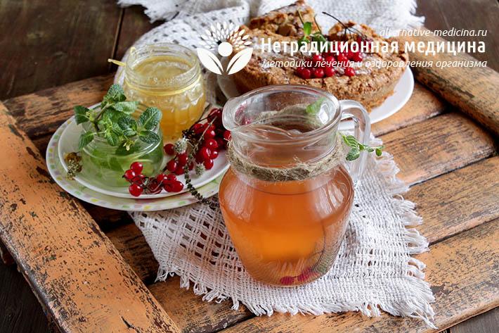 Витаминный напиток для повышения иммунитета