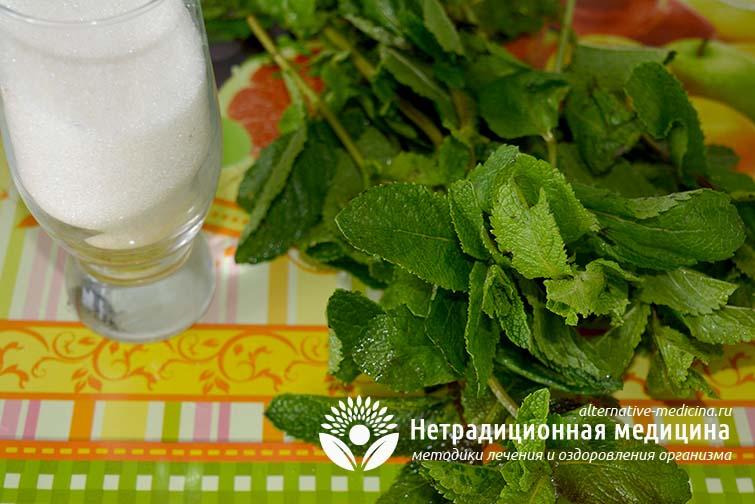 Варенье из мяты рецепт с пошагово