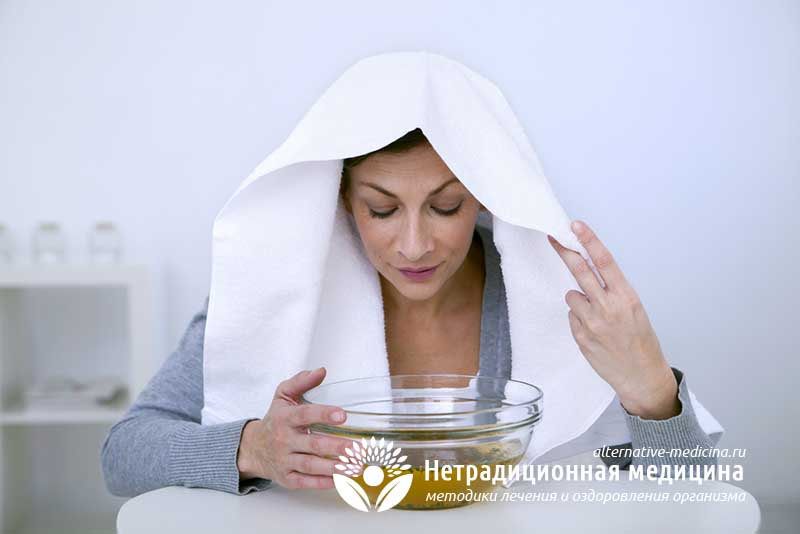 ингаляция при кашле и насморке