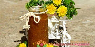 Миниатюра к статье Как приготовить варенье из одуванчиков своими руками — пошаговый рецепт с фото