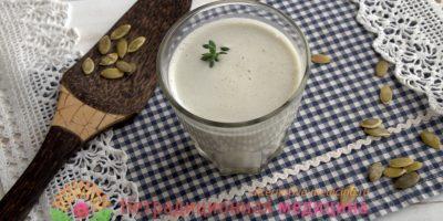 Миниатюра к статье Как приготовить молоко из тыквенных семечек — пошаговая инструкция с фото