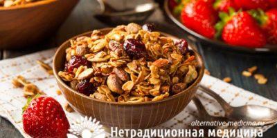 Миниатюра к статье Гранола — полезные свойства и секреты приготовления полезного завтрака
