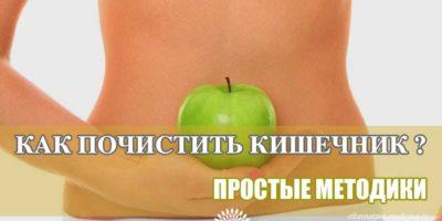 Миниатюра к статье Как очистить кишечник от шлаков и токсинов простыми способами