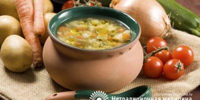 Миниатюра к статье Как приготовить настоящий луковый суп для похудения — рецепт
