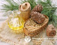 Миниатюра к статье Кедровое масло для лечения желудка - секреты эффективно применения