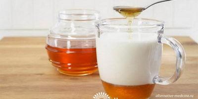 Миниатюра к статье Молоко с содой и медом — простое и эффективное средство от кашля