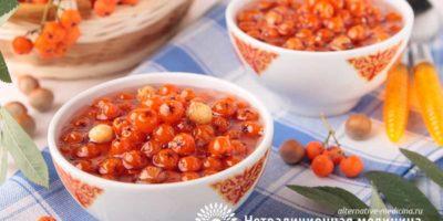 Миниатюра к статье Как заготовить рябину красную на зиму — самые вкусные рецепты
