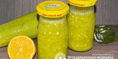 Миниатюра к статье Варенье из кабачков с лимоном — простой пошаговый рецепт с фото