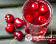 Миниатюра к статье Чем полезен вишневый сок для нашего здоровья - секреты напитка