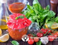 Миниатюра к статье Суповые заправки на зиму с зеленью и овощами - хорошие рецепты