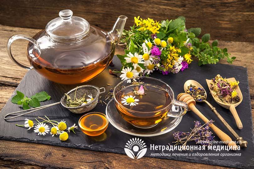 Чай лечит цистит