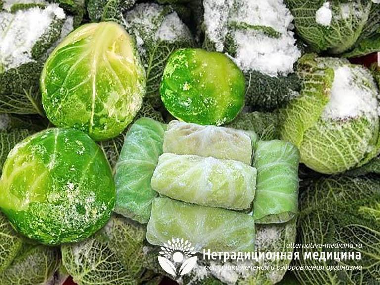 Как заморозить капусту на зиму