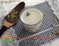Миниатюра к статье Как приготовить молоко из тыквенных семечек - пошаговая инструкция с фото