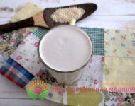 Миниатюра к статье Как приготовить кунжутное молоко в домашних условиях?