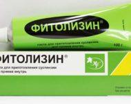 Миниатюра к статье Фитолизин — растительное средство  для лечения цистита и  камней в почках
