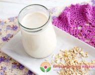Миниатюра к статье Овсяное молоко - полезные свойства и пошаговый  рецепт приготовления