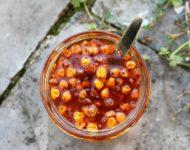 Миниатюра к статье Самые вкусные заготовки на зиму из облепихи - хорошие рецепты