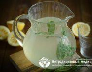 Миниатюра к статье Домашний лимонад с мятой - пошаговый рецепт приготовления с фото